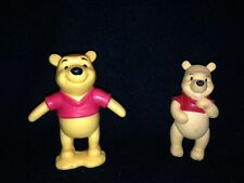 "DISNEY WINNIE THE POOH FIGURINES - POOH BEAR 3.5"" OR POOH BEAR W/MOVABLE LEGS"