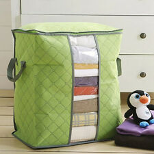 Large Storage Bag Pouch Holder Blanket Pillow Case Underbed Box Organizer Bags