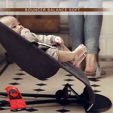 Red Black Baby Baby Balance Soft Bouncer Rocker Bouncer Chair Mesh/Cotton new
