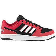 adidas Dineties Lo Trainers Black-Red Men's Shoes trainers Skate shoe Varial