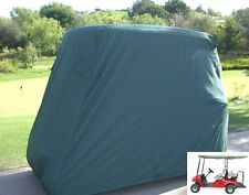 "Golf Cart Cover 4 Seater roof up to 80""L Green, fits EZGO, Club Car and Yamaha G"