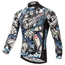 Outdoor Sport Cycling Jersey Spring Summer Bike Bicycle Long Sleeve MTB Clothing