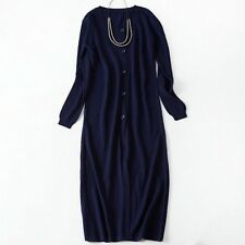 Fashion Women's Clothing Spring Autumn Winter Single Breasted Long Cardigans