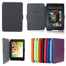 Smart Magnetic Wake /Sleep PU Leather Case Cover For Amazon Kindle Paperwhite_US