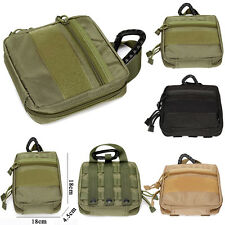 1000D Nylon Molle Military EDC Utility Tool Bag Medical First Aid Pouch Case New