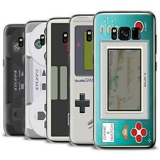 STUFF4 Gel/TPU Case/Cover for Samsung Galaxy S8 Plus/G955/Games Console