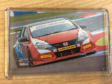 BTCC Jack Goff ~ Civic/ BMW 125/ MG6 /Insignia/ VW Passat/ Clio ~ Fridge Magnet
