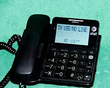 AT&T CL2940 Corded Phone with Speakerphone, Extra-Large Tilt Display/Buttons,