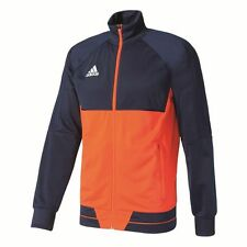 Adidas Mens Tiro 17 Football Training Jacket Full Zip Track Top Sports Navy ...