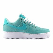 Nike Mens 488298-430 Air Force 1 Trainers Leather Sports Shoes Blue (#9345)