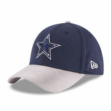 DALLAS COWBOYS NFL NEW ERA 39THIRTY OFFICIAL SIDELINE TEAM COLORS FLEX HAT NWT