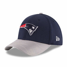 NEW ENGLAND PATRIOTS NEW ERA 39THIRTY OFFICIAL SIDELINE TEAM COLORS FLEX HAT NWT