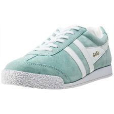 Gola Harrier Womens Trainers Mint White New Shoes