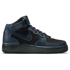 Nike Wmns Air Force 1 07 Mid Premium Shoes Women's Sneakers Trainers Navy Blue