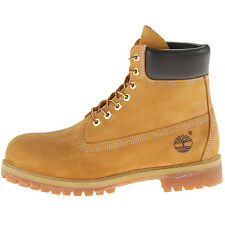 """TIMBERLAND 6 INCH PREMIUM AF WATERPROOF Men's Boots Leather Boots Wheat 6"""" NEW"""