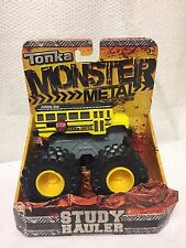 TONKA MONSTER METAL DIECAST BODIES STUDY HAULER YELLOW TONKA SCHOOL BUS TRUCK