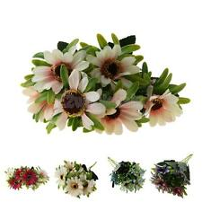 Artificial Daisy Silk Flower Bouquet Home Wedding Party Floral Decor 6 Color