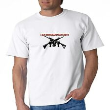Gun Control T Shirt I Am Homeland Security AR 15 2nd Amendment