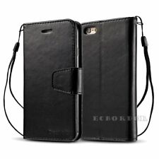 Luxury Magnetic Card Holder Flip Wallet Leather Case Cover For Apple iPhone