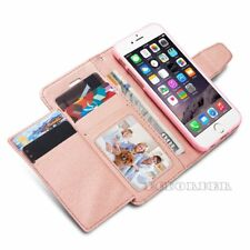 Luxury Magnetic Card Holder Flip Wallet Leather Case Cover For Samsung Galaxy