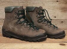 Alico Mens Leather Italian Made Mountaineering Hiking Boots sz 8