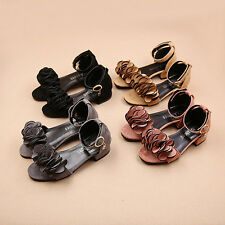 Fashion Kids Girl Flowers Sandals Flats Toddler Girl Roman Sandals Summer Shoes
