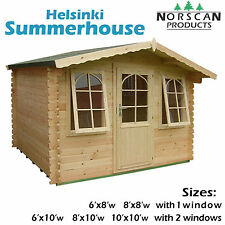 28mm Log Cabin Summerhouse Garden Building, Office, Shed, Wood Building