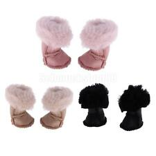 Pair of Doll Shoes Plush Long Snow Boots for 12'' Blythe Azone Doll Dress Up