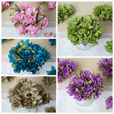 60 Small Craft Roses Wedding DIY Party Flowers Decorations Wholesale SALE