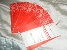 ARSENAL HOME PROGRAMMES FROM 1965/6 INC LEAGUE AND FRIENDLYS