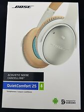 Bose QuietComfort 25 (QC25) Acoustic Noise Cancelling Headphones White