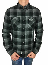 *SALE* Superdry Mens Refined Lumberjack Shirt in Nightfall Check
