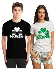 FUNNY ST PATRICKS DAY FECKIDAS T SHIRT  PATRICK'S DAY IRISH PADDY SAINT IRELAND