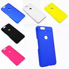 Slim Matte Hard Plastic Case Cover For Huawei Google Nexus 6P +Screen Protector