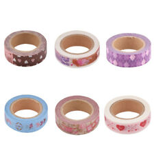 Gift Packing Washi Paper Stationery Decoration Craft Sticky Tape Sticker 2 Pcs