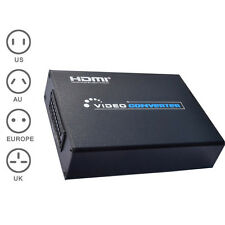 1080P Scart to HDMI Converter Scaler Adapter for HDTV Audio Video Projector HCXM