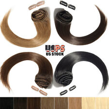 100% Best Offer Clip in Real Human Hair Extensions Remy Full Head 7/8pcs SK014