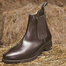 Mark Todd TODDY JODPUR BOOT Short Yard Leather Unisex  Brown Black 4 - 11