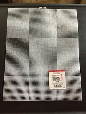 **Choose Color* Plastic Canvas 7 Mesh Quick Count + Darice White Clear Rose Blue