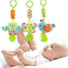 Animal Wind Chime Baby Infant Plush Stroller Hanging Toys Rattles Mobile - LD