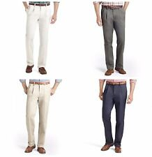 NWT Men's IZOD American Chino Classic-Fit Wrinkle-Free Pleated Pants