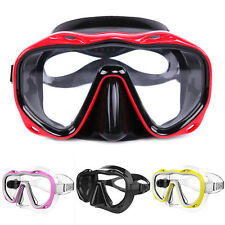 Silicone Seal Snorkel Scuba Tempered Glass Lens Mask Diving Equipment Glorious