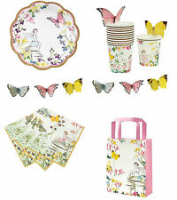 Truly Fairy Birthday Party Cups, Napkins, Plates, Bunting, Treat Bags