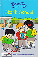 Topsy and Tim START SCHOOL Ladybird Learnabout Book Gloss Hardback 1995