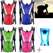 2L Water Bladder Bag Backpack & Hydration Packs Outdoor Hiking Camping Camelbak