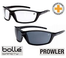 BOLLE Prowler Safety Glasses *  Medium Impact * Clear/Smoke Lens