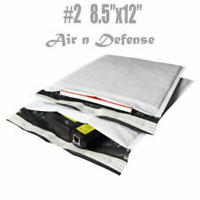 #2 8.5x12 Poly Bubble Mailers Padded Envelopes Bags Self Seal AirnDefense