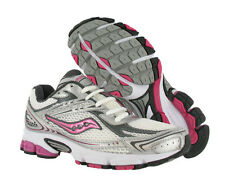 Saucony Grid Ignition 2 Wide Athletic Womens Running Shoes White/silver Size