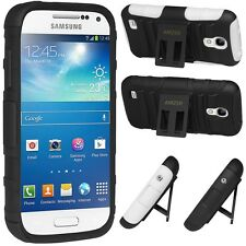 AMZER Hybrid Kickstand Shockproof Rugged Case For Samsung Galaxy S4 Mini / Duos