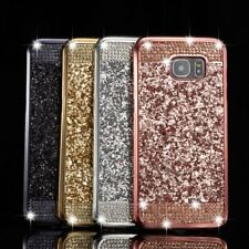 Luxury Bling Glitter Diamond Soft TPU Case Skin Cover For Samsung Galaxy Phones